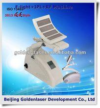 2013 Hot Selling Multi-Functional Beauty Equipment E-light+IPL+RF machine face lift sans chirurgie