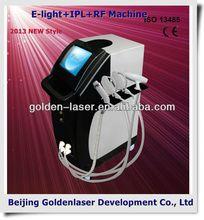 2013 Multifunctional Beauty Equipment E-light+IPL+RF machine red blood streak