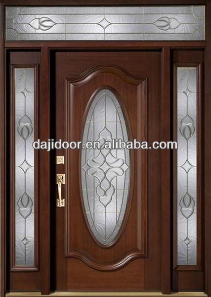 Lado lite de popa oval franc s puertas de madera maciza dj for Precio de puertas home depot