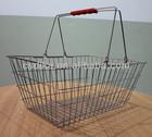 steel wire mesh shopping basket