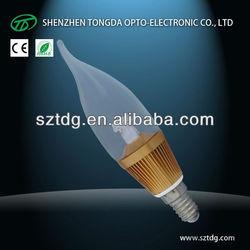 alibaba website 3w e14 led chandelier bulb ztl led bulb zhongtian