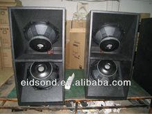 TOP series dual 18'' subwoofer pro audio