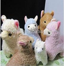 Stuffed Cheap And Cute Plush Alpaca Toy