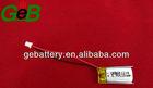 Liion GEB601224 3.7V 110mah lipo battery
