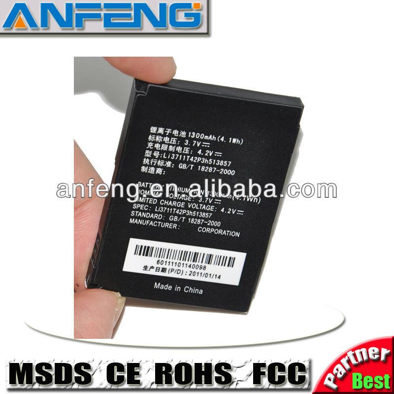 la batterie de remplacement pour zte li3711t42p3h513857 china mobile