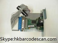 Barcode printer Zebra 105sl built-in network card