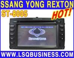 lsqstar ssang long rexton 2007 car dvd supplier with gps navigation+radio+dvd+mp3+mp4+ipod...hot selling!
