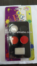 4 colors football fans face paint crayons,promotional gifts,non-toxic,high quality