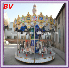 beauty center decoration for fun, 16 rides merry go round