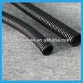 Venta al por mayor manguera corrugada flexible en negro 32mm PA