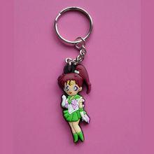 Japan character 3d soft PVC keychain