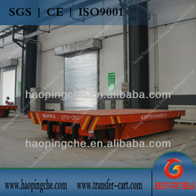 heat resistant transport carriage to transfer material for workshop on rail