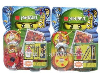 Ninja beyblade spin top toy