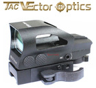 Vector Optics Ratchet 1x23x34 Multi Reticle Green Red Dot Sight with Quick Mount
