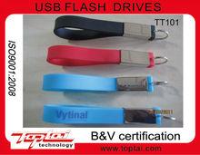 Hot sell fashion Key ring USB2.0 PVC Pen Disk, 128MB-64GB