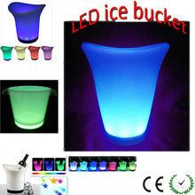 Club/Bar/Party RGB Changing led ice bucket