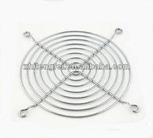 good quality plastic 120mm metal fan grill