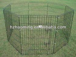 metal folding wire rabbit enclosure / pet fence