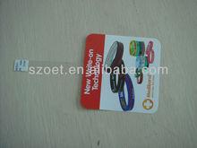 plastic shelf wobbler, supermarket wobbler for promotion