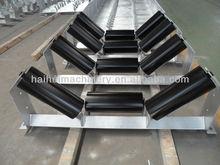2013 New design high quality transport industrial standard belt conveyor spare parts labyrinth seal bearing steel idler roller