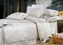 awatti-soft jacquard silk bedding set/sheet/pillow/cushion