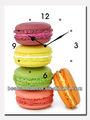 Fazendo relógios com crianças, mini atacado relógios de quartzo com hambúrguer deimagem