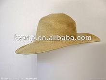 New Korean Style Children Rice White Coffee Straw Hat cap BHC-357