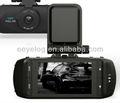 Ventas calientes !! Full HD 1080P Pequeño coche DVR, Ambarella A2S60, con el G-sensor, GPS, Bienvenido OEM / ODM