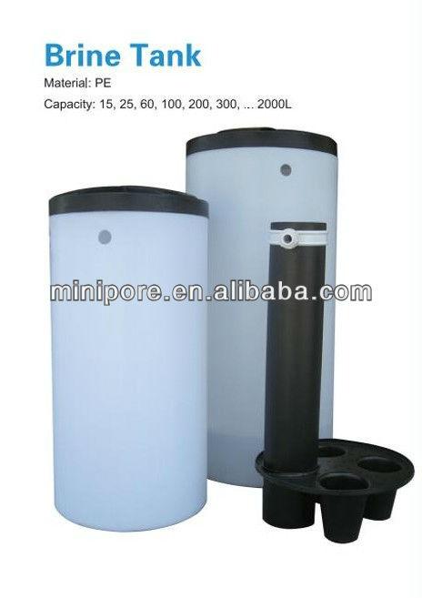 5000l/h tanque de agua/ablandador de aguaindustrial/tanque de salmuera
