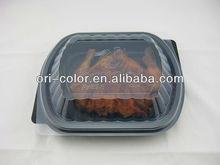 Plastic take away salad bowl
