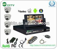 D1 h.264 4ch dvr combo cctv camera kit (GRT-D7004MHK3-3ST)