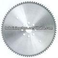 circular de corte de sierra de metal