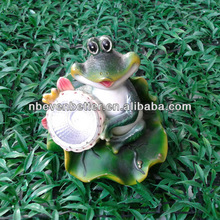 resin frog solar light(Item No.325099)