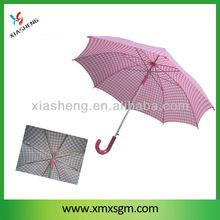 """23""""x8k Aluminum Pink Lady Stick Umbrella"""