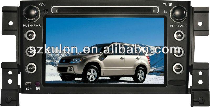 Car radio gps dvd player for suzuki grand vitara with GPS multimedia system Bluetooth T,DVB-T ,IPOD/IPHONE