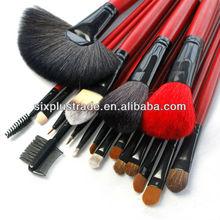 18pcs professional Nylon&Goat&Pony hair makeup brush set