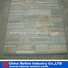 Stacked Golden wall slate