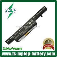 6-87-C480S-4P4 Original laptop battery C4500BAT-6 for Clevo C4500 notebook batteries
