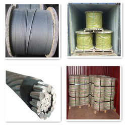 BS 183 7x3.25 mm Galvanized earth wire 350 Grade