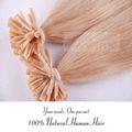 u punta estensioni dei capelli della cheratina tessitura collaitaliaingrosso prezzo di produzione cinese