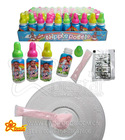 Feeding Bottle with Tattoo Paper Sour Powder Candy