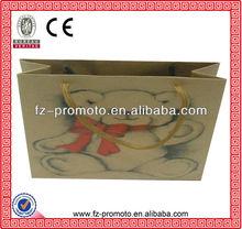 kraft paper bags good quality paper shopping bag