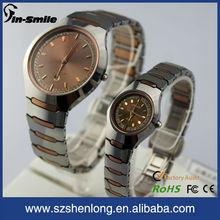 Tungsten mens stylish watches,swiss tungsten watches dial stones