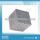 block NdFeb Magnet with zinc
