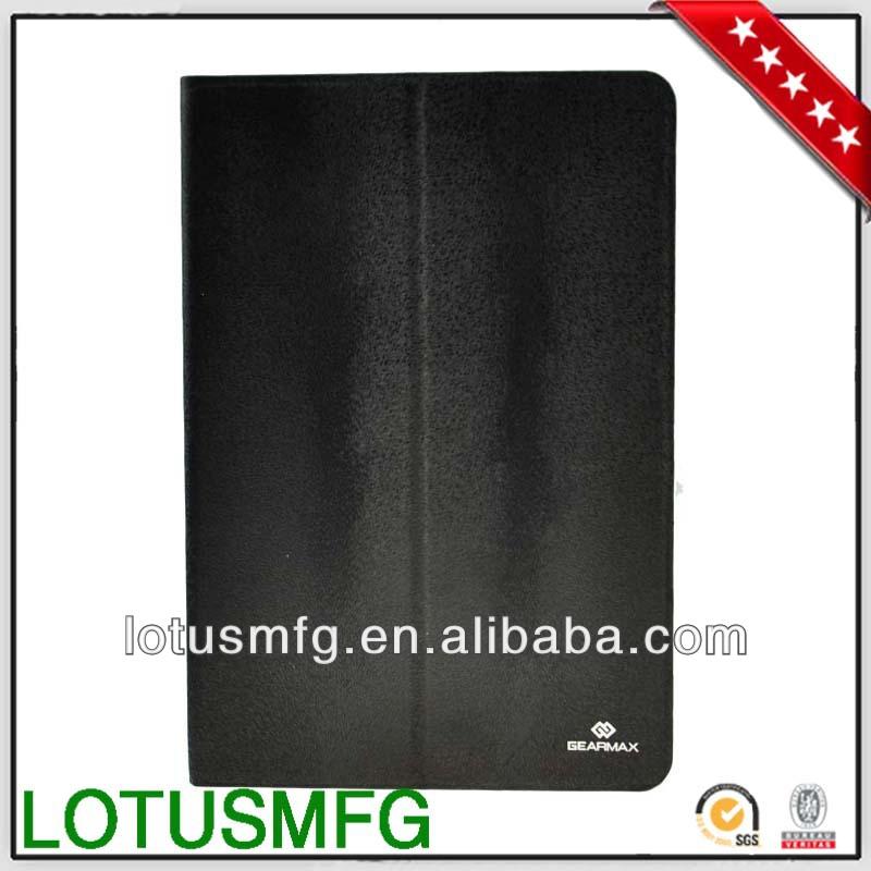 2013 hot sell canvas polka dot case for ipad 3 flip case