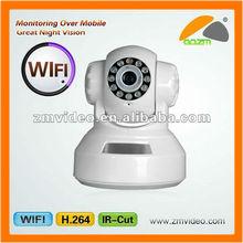2012 Best Sale infrared Indoor Pan/tilt IR IP Camera