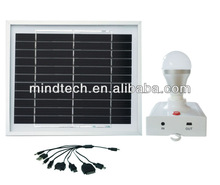 solar led lantern/solar led light with 3w solar panel and 3w led bulb charged by sunlight