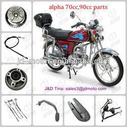 piezas de la motocicleta alpha 110