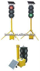 Mobile solar traffic light