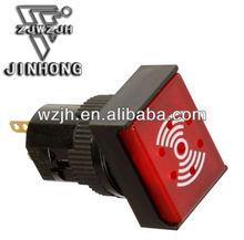 LED lamp rectangle electronic buzzer switches